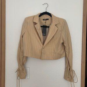 Nasty Gal cropped blazer
